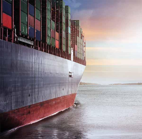 Prevozi kontejnerjev z ladjo